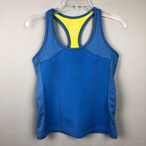 Zaggora Scuba Workout Tank Blue Medium